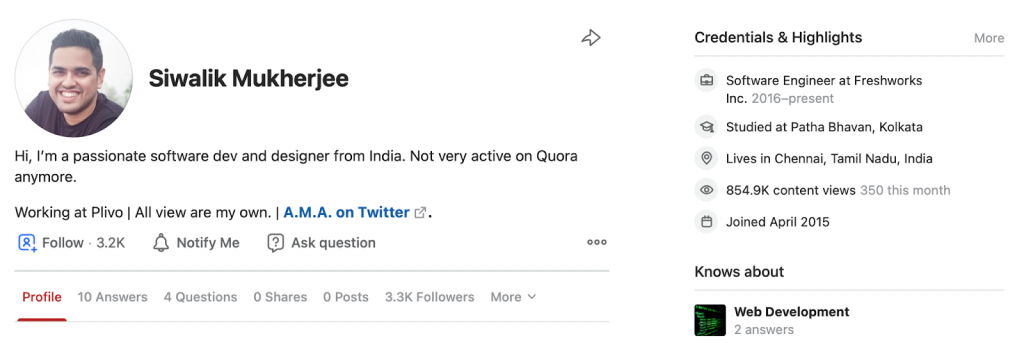sourcing on quora example 4